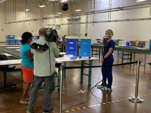 TV Interview with RN Melissa Jordan - Pro HEROCART Frontline Hero