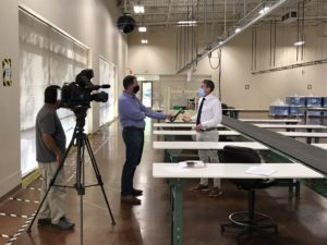 TV Interview with Tagg Neal, TAGCarts CEO