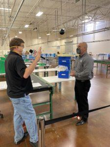 TV Interview with Pride Industries' VP Tony Lopez